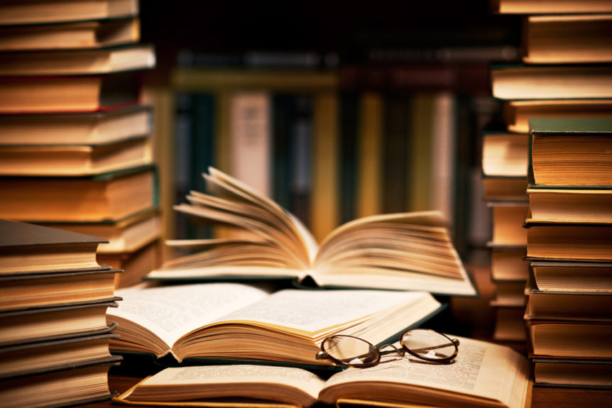 открытые книги