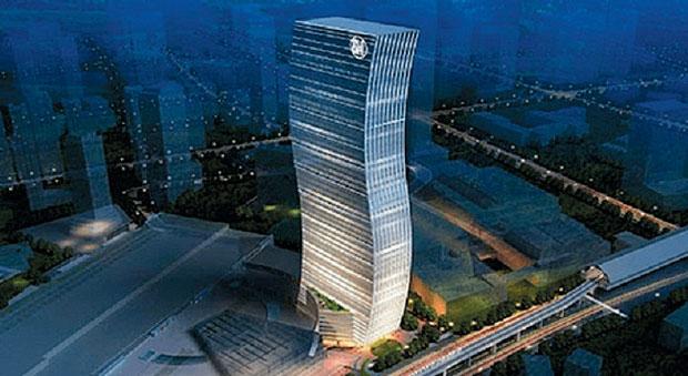 уникальное здание