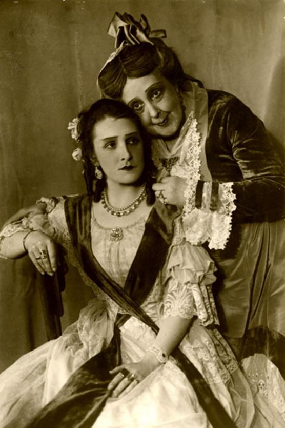Актрисы в постановке Малого театра 1933 года