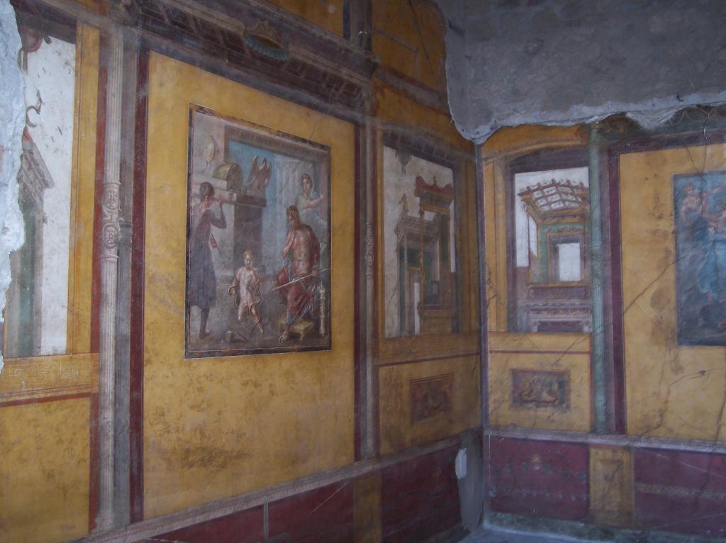 Фрески в доме Веттиев
