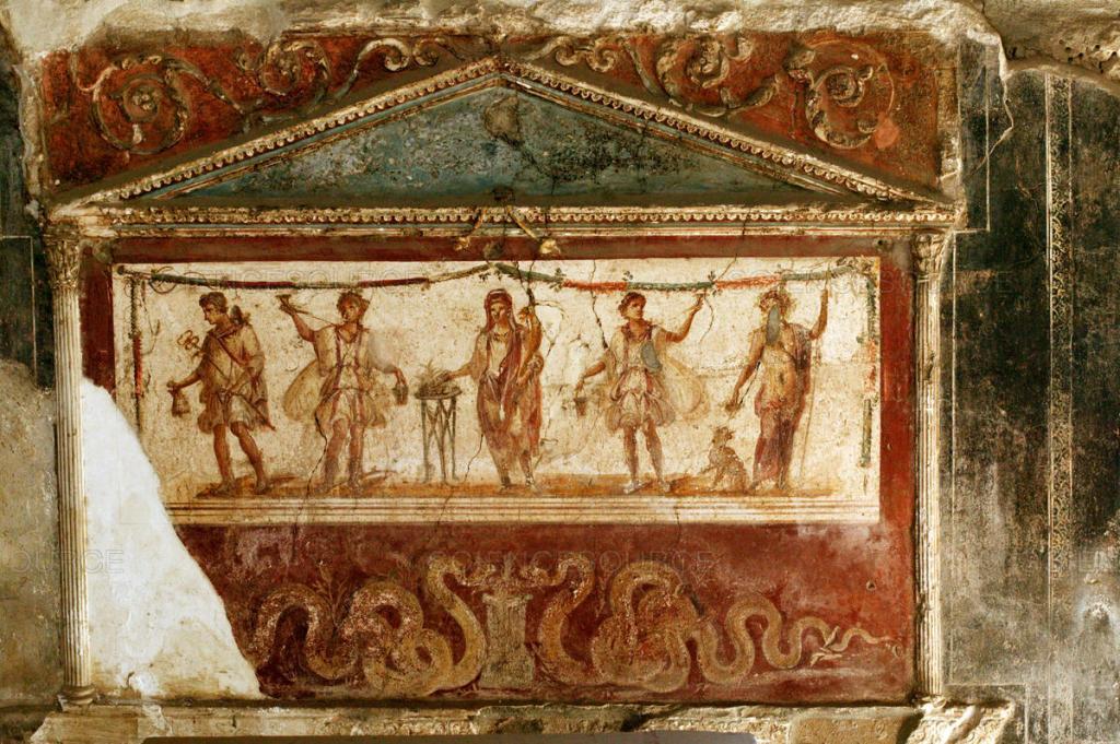 Фрески Помпеи и Геркуланума