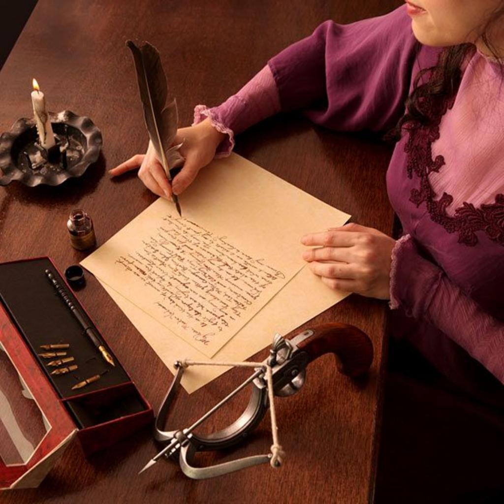 Написать письмо - это искусство