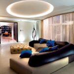 Освещение потолка: идеи, варианты и правила монтажа