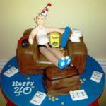 Оригинальный торт на юбилей мужу