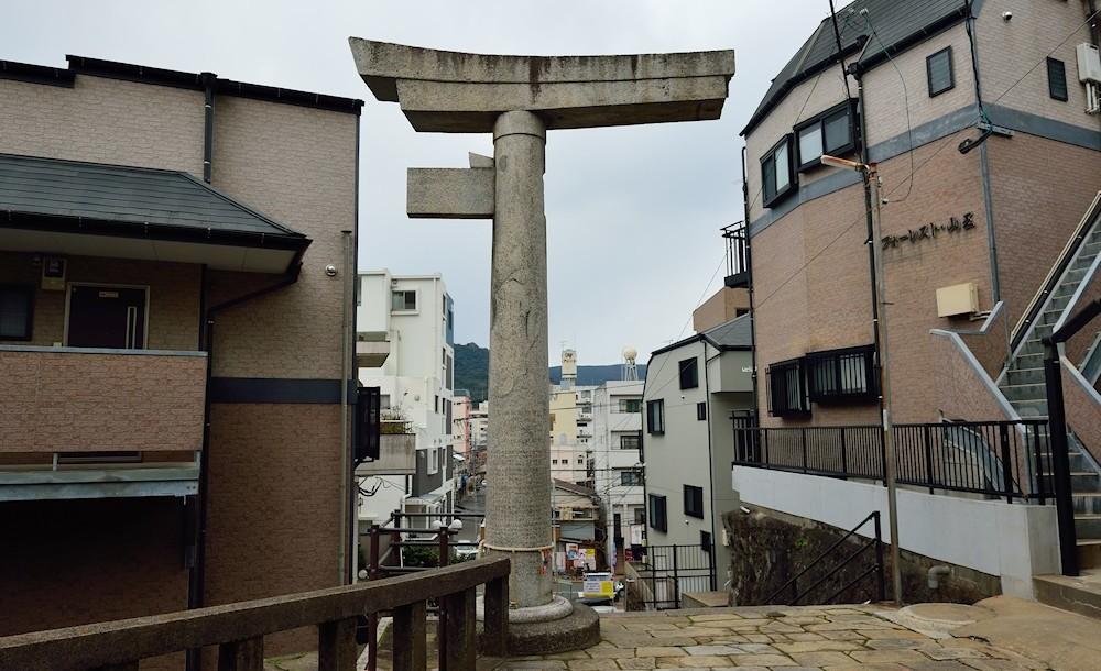 Тории в Нагасаки