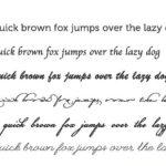Как выработать красивый английский почерк