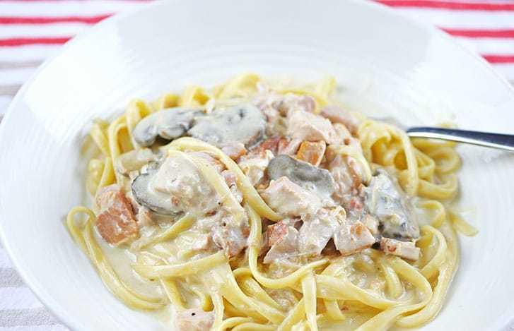 паста карбонара рецепт с курицей и сливками