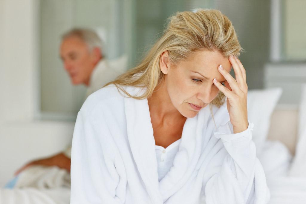 Боли в области лба при менопаузе