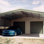 Строительство навеса перед гаражом: особенности конструкции