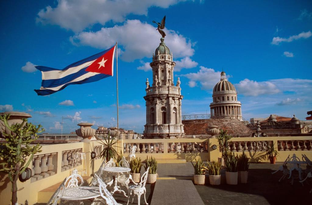 кубинский флаг