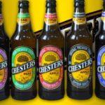 Английский сидр Chester с разными вкусами