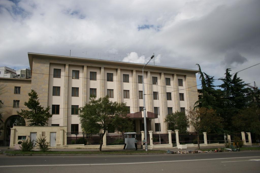 секция интересов россии в грузии
