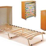 Раскладная кровать-тумба трансформер с матрасом: удобно и практично