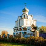 Храм Благовещения Пресвятой Богородицы на Пискаревском проспекте в Санкт-Петербурге