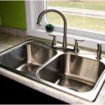 Размеры кухонных раковин: типы, габариты, материал и фото