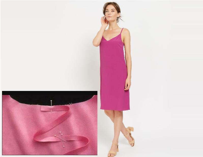 платье комбинация выкройка