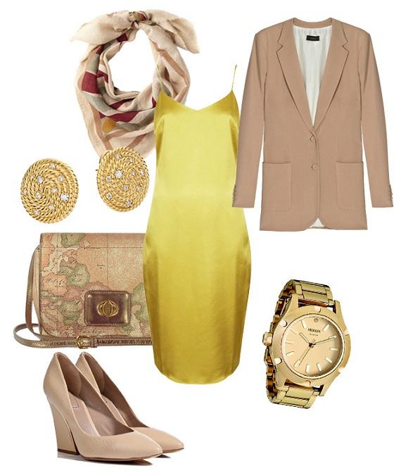 платье комбинация шьем сами