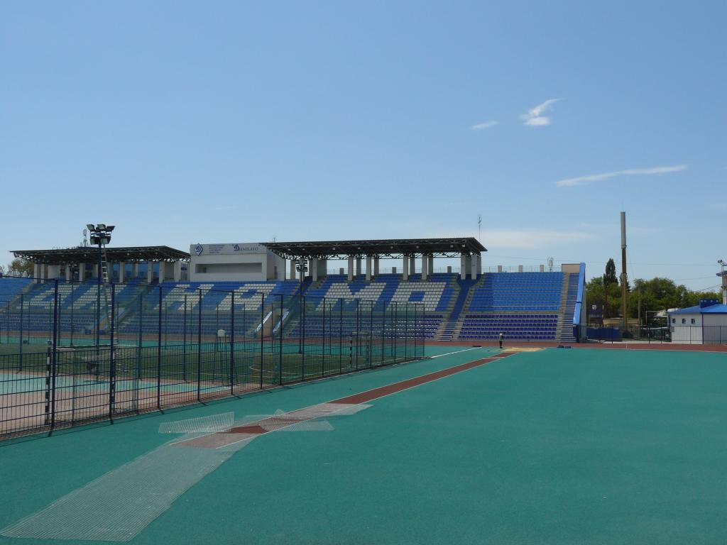 Места для зрителей на стадионе