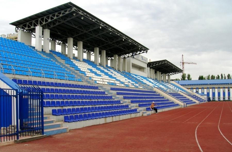 Беговы дорожки на стадионе Динамо