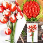 Как приготовить закуску из помидоров Тюльпан: лучшие рецепты