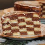 Шахматный кекс: рецепт приготовления с фото