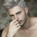 Пепельный цвет волос у мужчин: особенности и фото