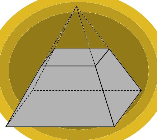 Усеченная четырехугольная пирамида