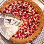 Пирог с клюквой и сметаной: рецепт приготовления с фото, секреты выпечки