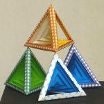 Объем треугольной пирамиды. Формулы и пример решения задачи