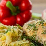 Тушеный кролик с капустой: рецепты