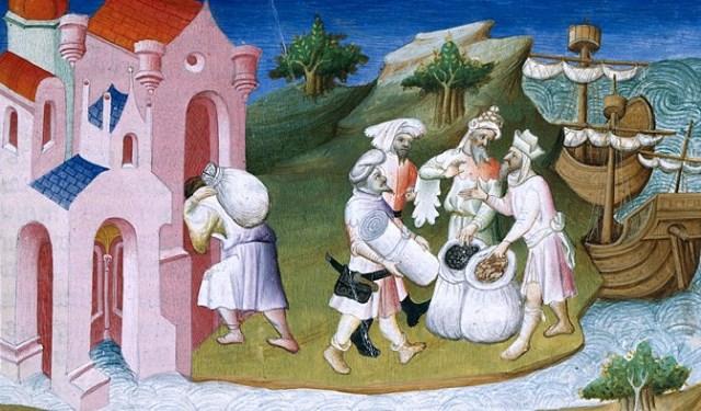 Средневековая торговля