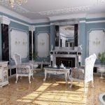 Стиль рококо в интерьере: характерные черты, цветовая палитра, мебель