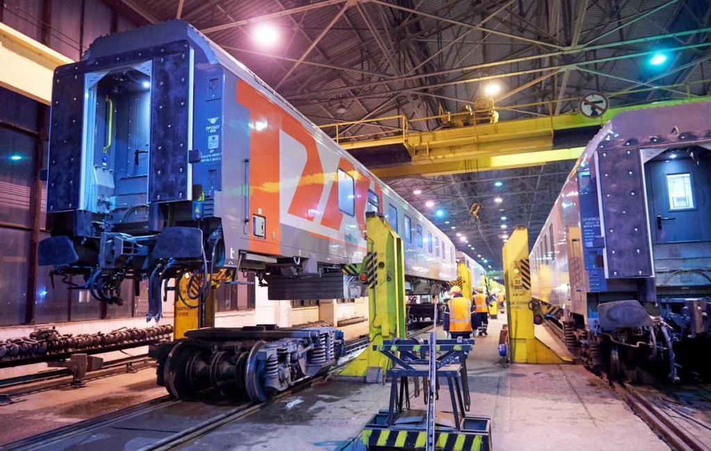 Подготовка пассажирских вагонов