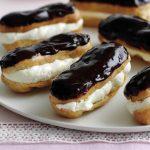 Начинка для эклеров сладкая - рецепты приготовления