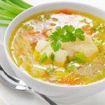 Суп из палтуса: простой вкусный рецепт