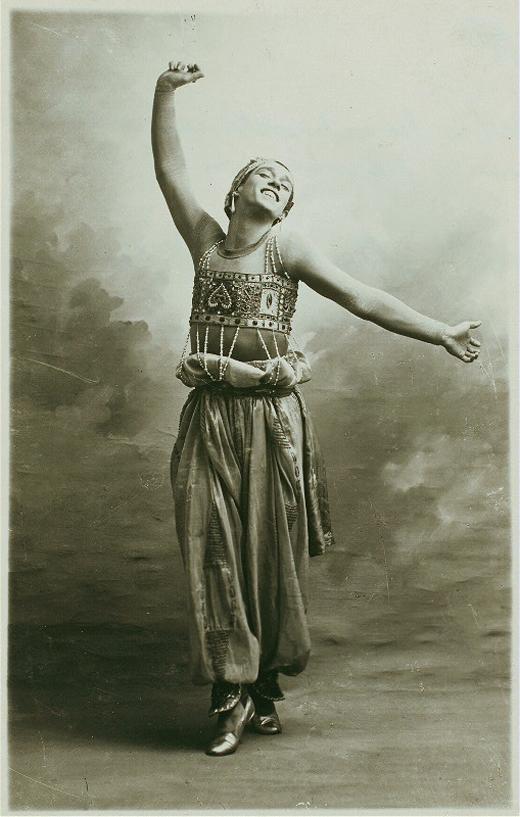 """Вацлав Нижинский, балет """"Шахерезада"""""""