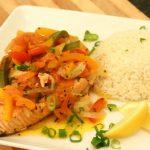 Горбуша с рисом в духовке: рекомендации