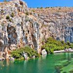 Термальное озеро Вульягмени в Греции: описание, как добраться, отзывы