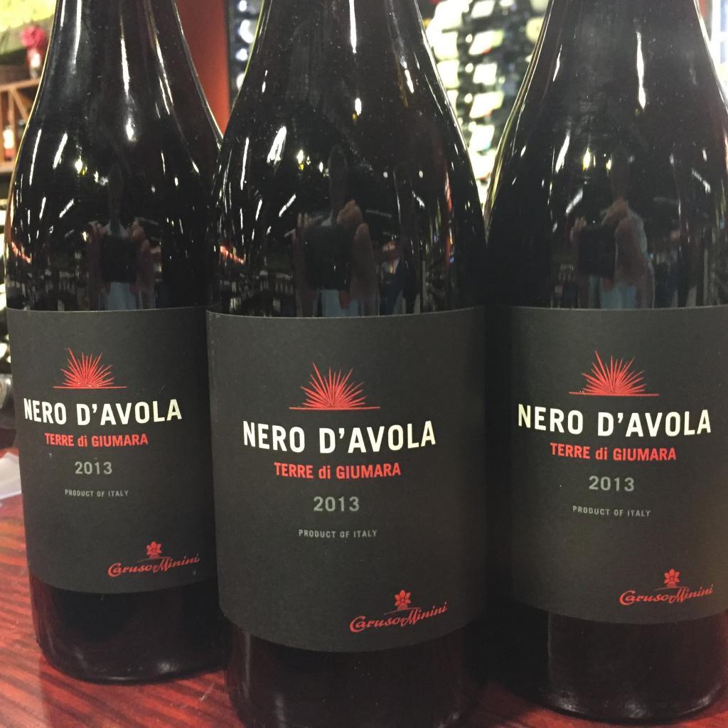 Вино Неро д'Авола (Сицилия, Италия)