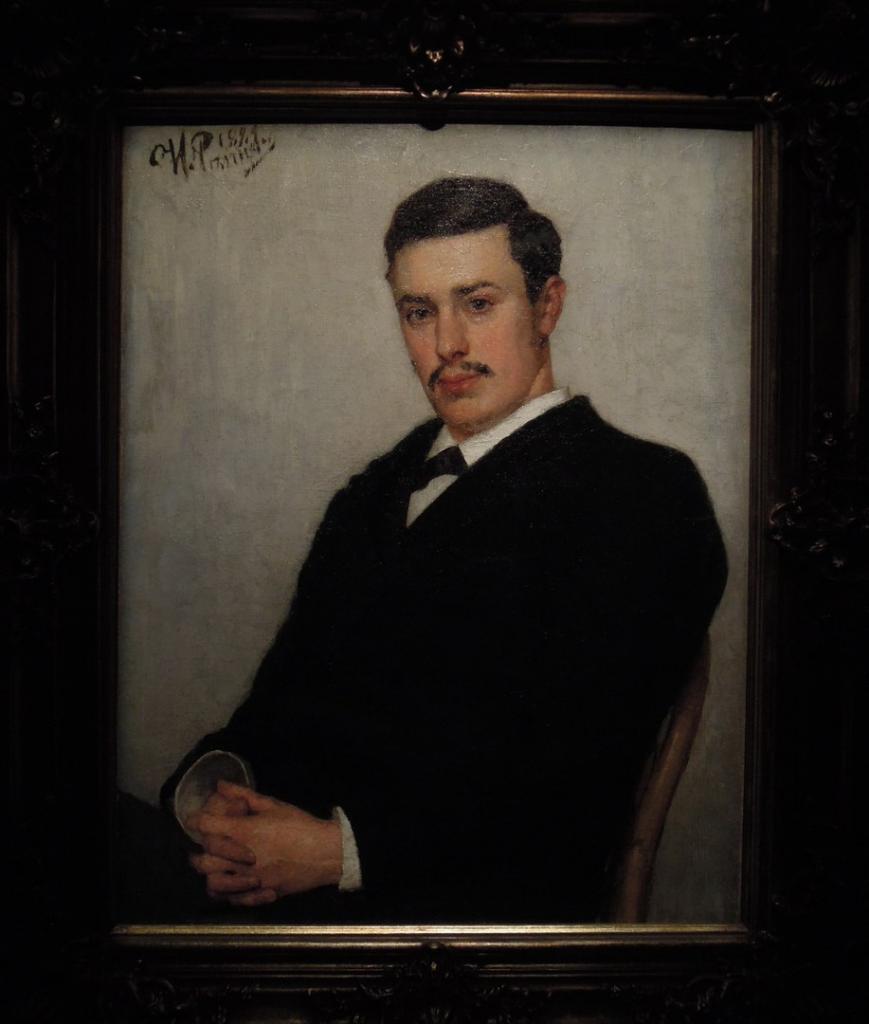 неизвестный портрет Сергея Дягилева