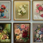 Картины в интерьере в стиле прованс: стильные особенности, идеальные комбинации и правильные сочетан...