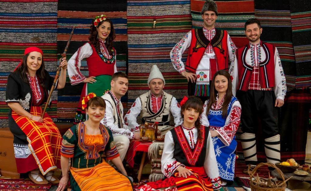 виды болгарского национального костюма