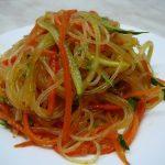 Фунчоза с морковью по-корейски: популярные и простейшие рецепты