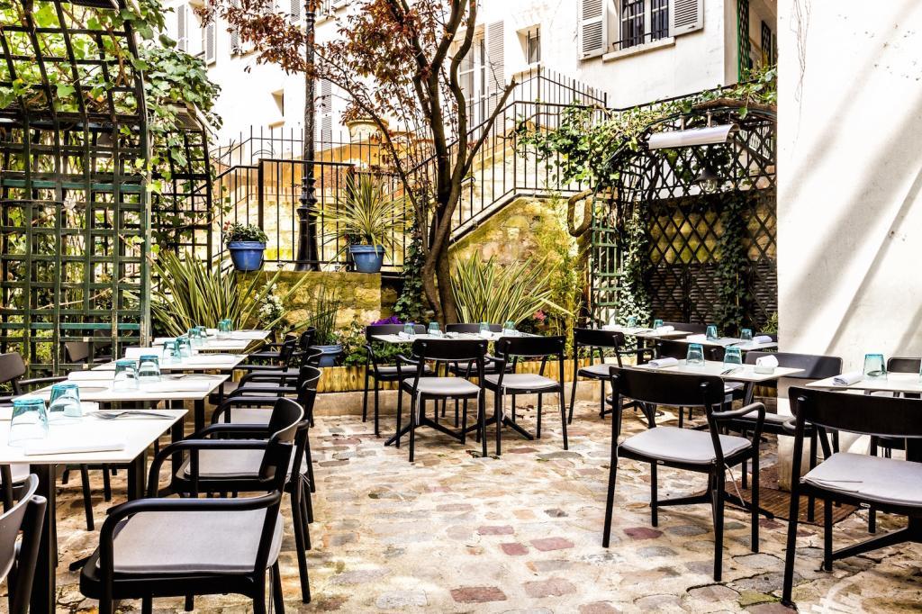 ресторан Мулен де ла Галетт