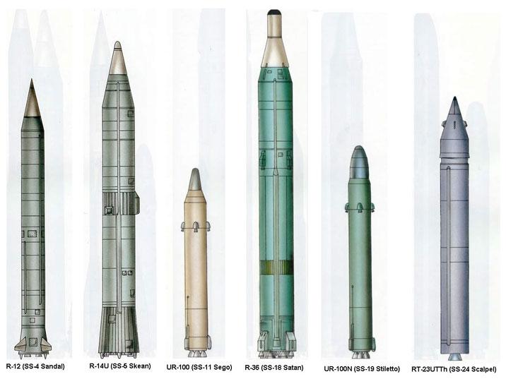 Прототипы ракет Р-12