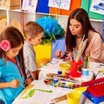 Типы занятий в ДОУ. Организация детей на занятии. Темы занятий