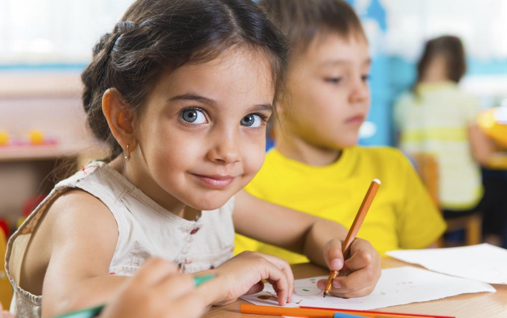 организация детей на занятии