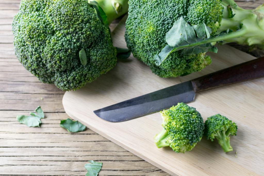 чем отличается брокколи от цветной капусты по полезности