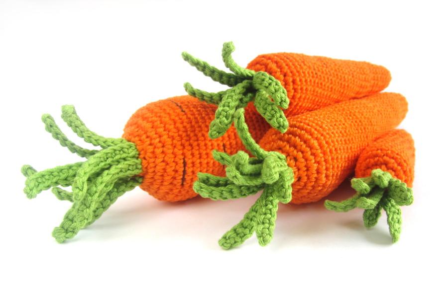 вязаные овощи описание