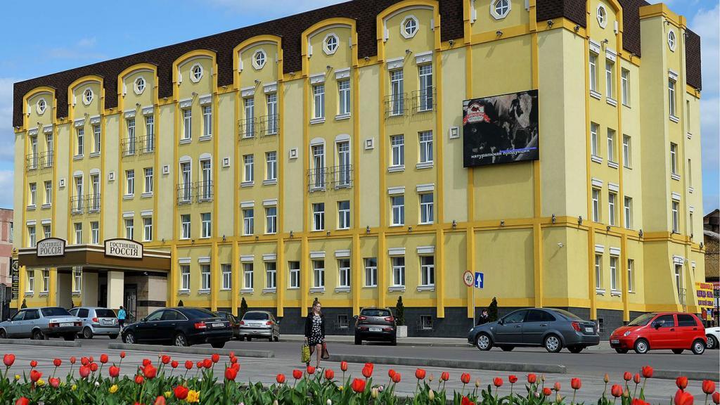 Общий вид отеля.
